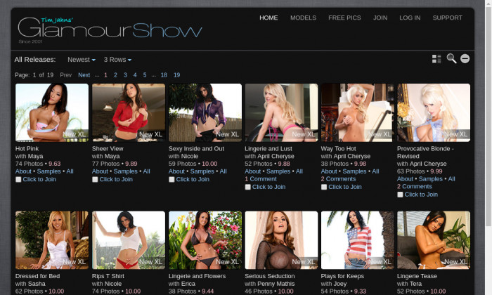 glamour show