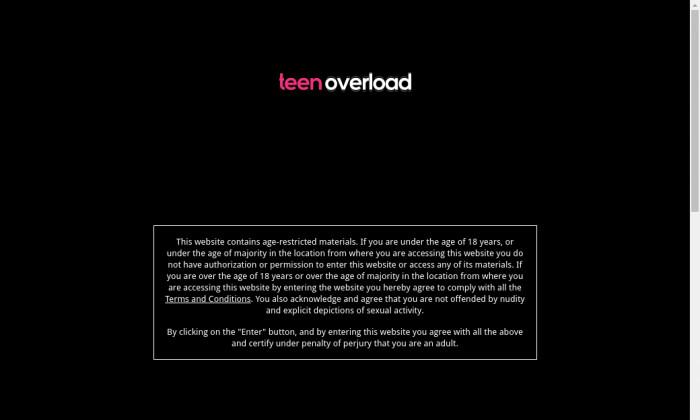 teen overload